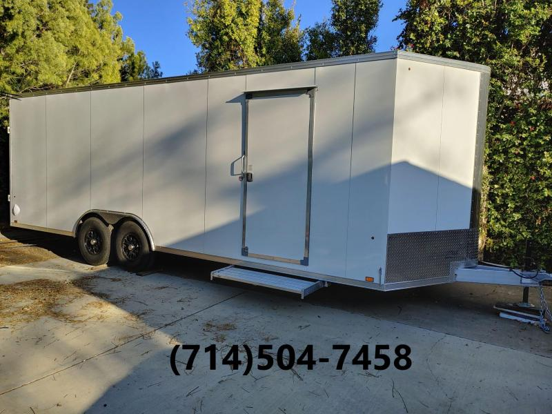 "2021 Look Everlite 102"" x 24' Aluminum Enclosed Cargo/ Car Hauler"