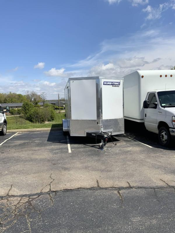2021 Sure-Trac 7 x 16 Pro Series Enclosed Trailer
