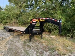 2020 Big Tex Trailers 30' Gooseneck Flatbed Trailer w/ 5' Dove