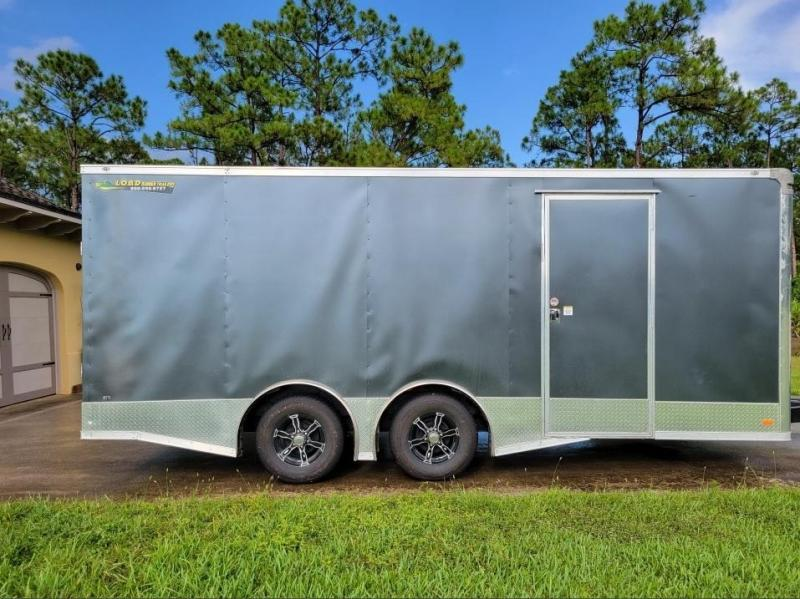 2021 Covered Wagon 8 x 20 Enclosed Car Hauler / Cargo Trailer