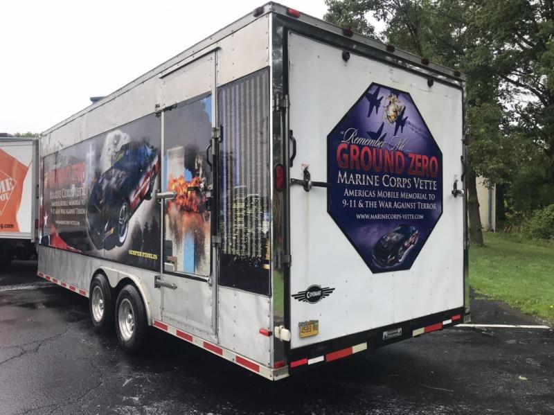 2008 Covenant 8' x 22' Enclosed Cargo Trailer