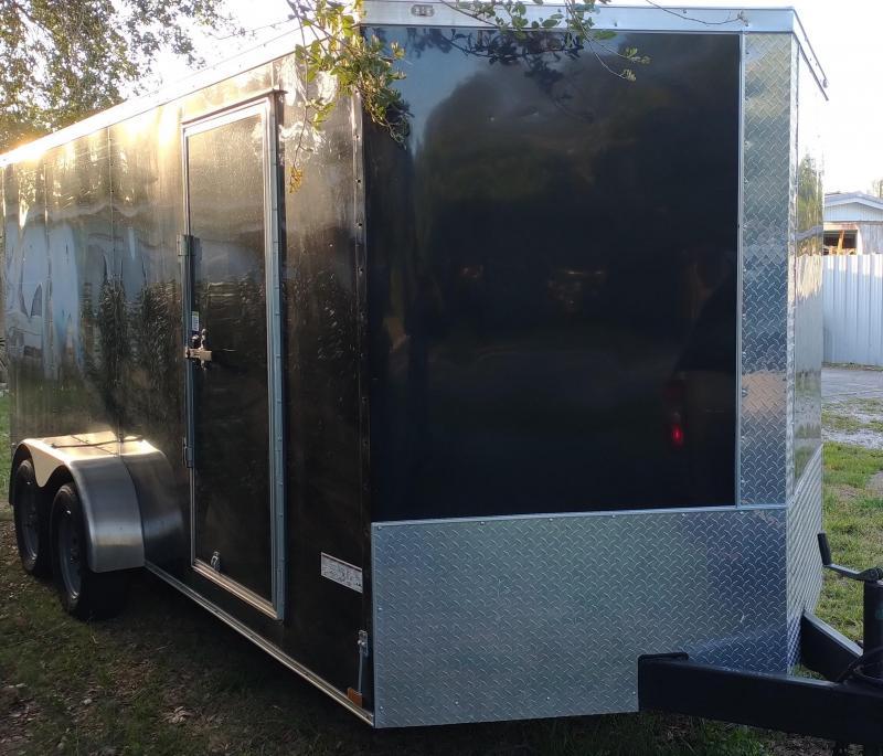 2020 Anvil 7 x 16 Tandem Axle Enclosed Cargo Trailer