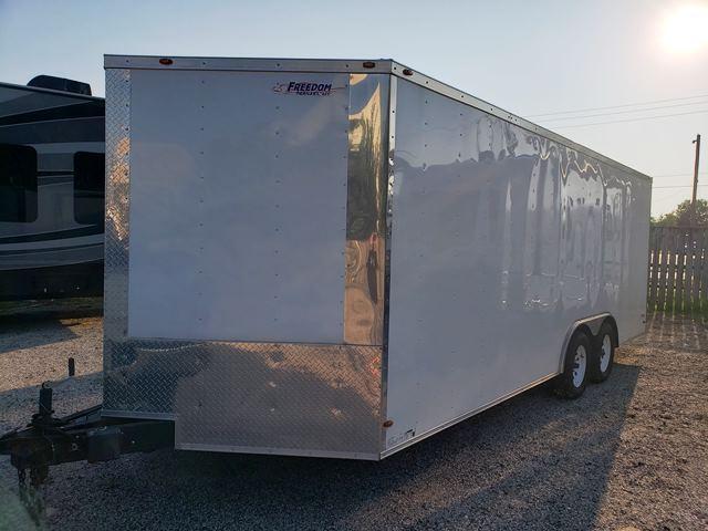 2018 Freedom 8.5X20 Enclosed Cargo Trailer