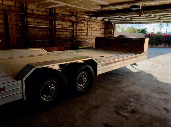 2020 Featherlite 8.5 x 22 Flatbed Car Trailer