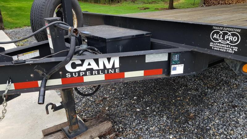 2009 Cam Superline 8' x 18' Flatbed Deckover Trailer