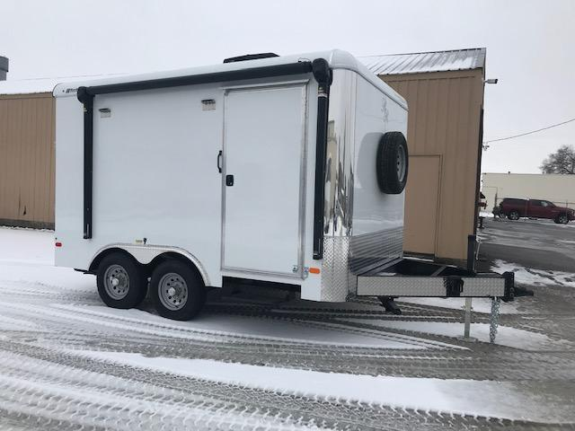 2020 Double R 8.5 x 12 Enclosed Competition BBQ/Service Trailer