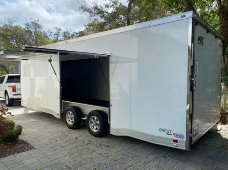 2020 ATC CH305 24' Enclosed Car Hauler / Race Trailer