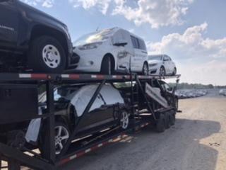 2018 Texas Pride 5 Car Hauler