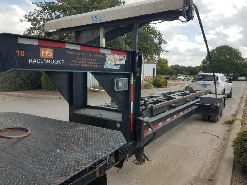 2019 Texas Pride 9' x 30' Gooseneck Roll Off Trailer