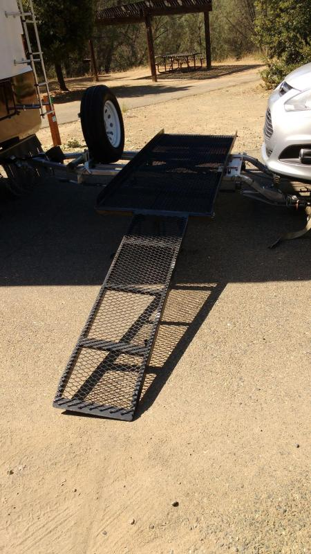 2016 Landgrebe 8' x 13' Car and Motorcycle Tow Dolly