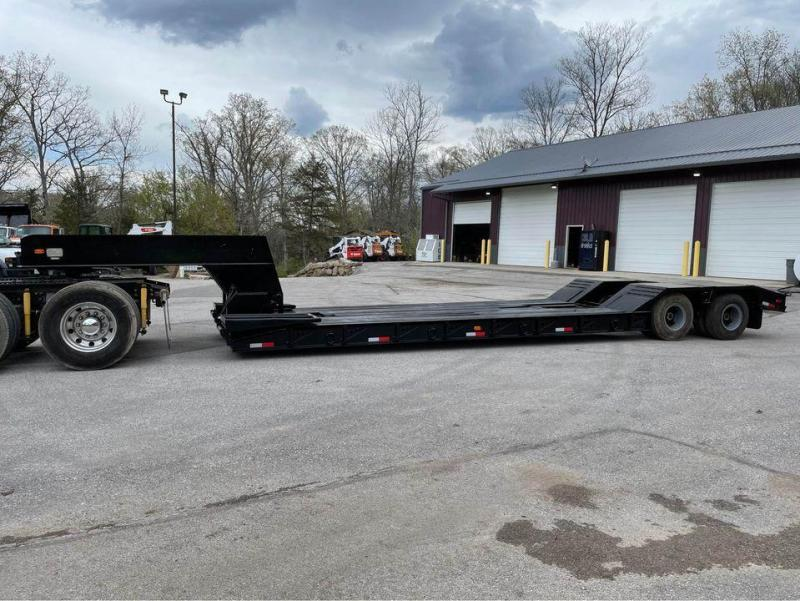 1978 Rogers 25 Ton Detachable Equipment Trailer
