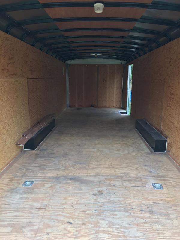 2011 Interstate LoadRunner 8.5 x 24 Enclosed Trailer