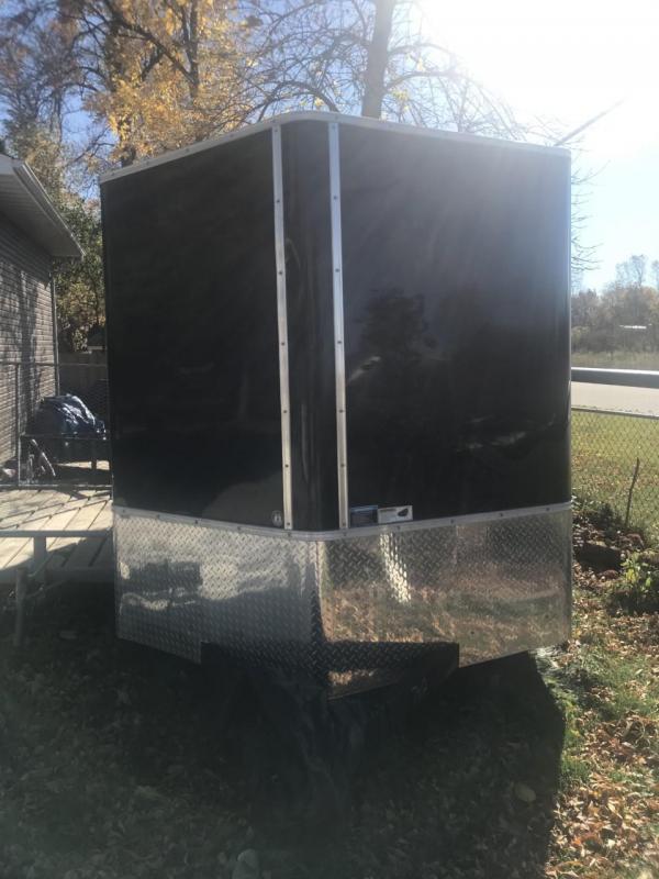 2020 H and H 7' x 12' V-Nose 5K Enclosed Trailer