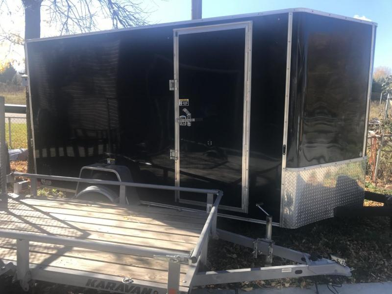2020 H and H 7' x 12' V-Nose 5K Enclosed Trailer