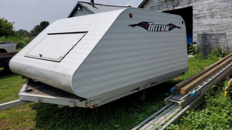 2004 Triton 8.5 x 12 Snowmobile Trailer