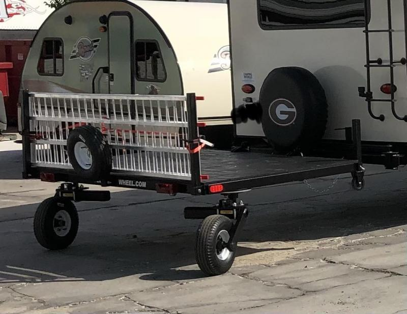 2019 Swivelwheel Dual Wheel Trailer