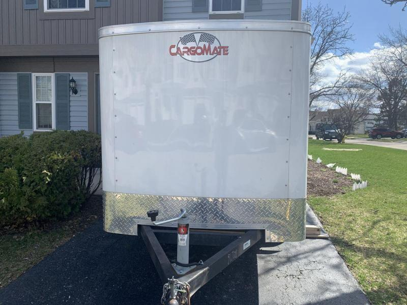 2018 Cargo Mate 5 x 8 Single Axle Enclosed Cargo Trailer