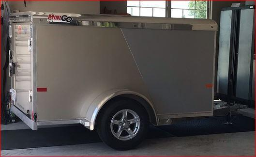 2020 Sundowner MiniGo 5 x 8 Enclosed Cargo Trailer