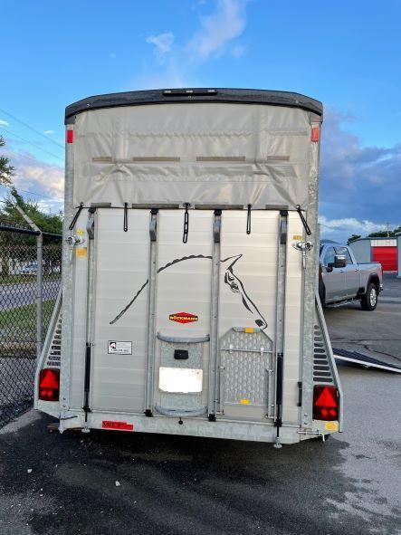 2019 Bockmann Portax K 2 Horse Straigh Load Trailer