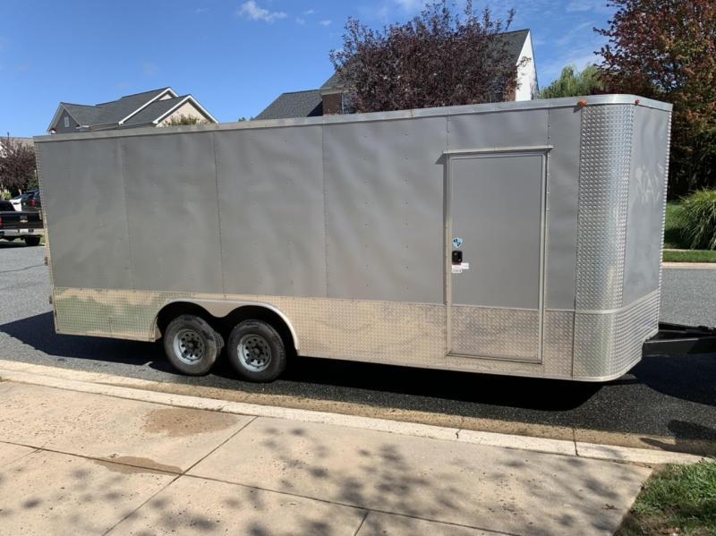 2017 Arising 8.5 x 20 Enclosed Enclosed Cargo Trailer