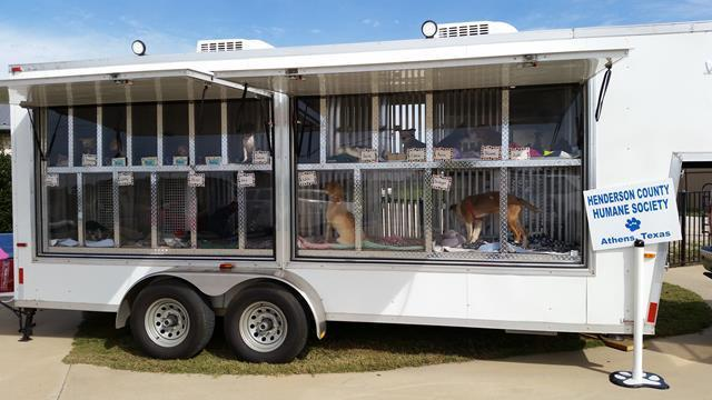 2015 Jackson Creek Mfg 7' x 25' Pet Adoption Trailer