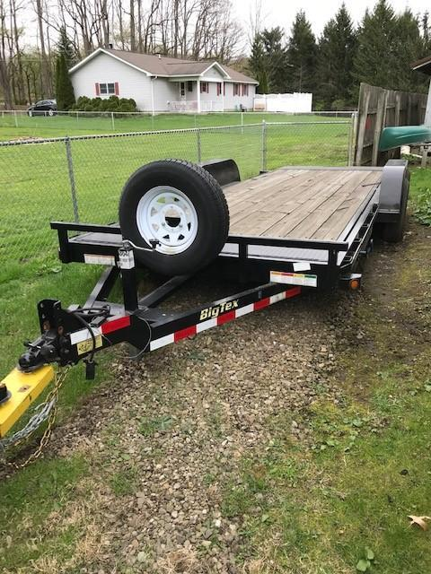 2017 Big Tex 7' x 20' Full Tilt Equipment Trailer