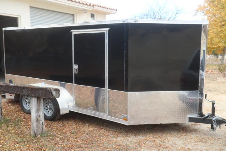 2020 Continental Cargo 7 x 14 Enclosed Trailer