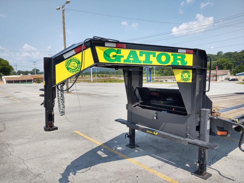 2021 Gatormade 25+5 Flatbed Trailer w/ Monster Ramps