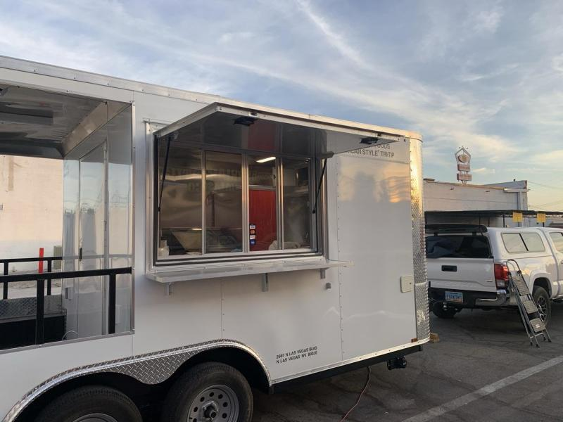 2020 Arising Industries 8.5' x 16' Concession Trailer