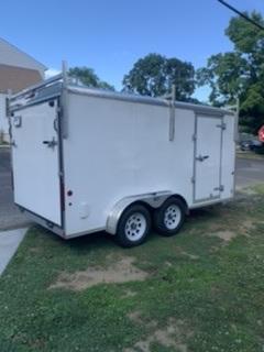 2018 Car Mate 7 x 14 Tandem Axle Enclosed Cargo Trailer