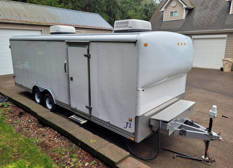 2001 Wells Cargo 8 x 24 Custom Enclosed Trailer
