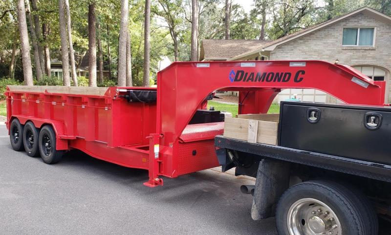 """2021 Diamond C 83"""" x 16' Dump Trailer 24K GVWR"""