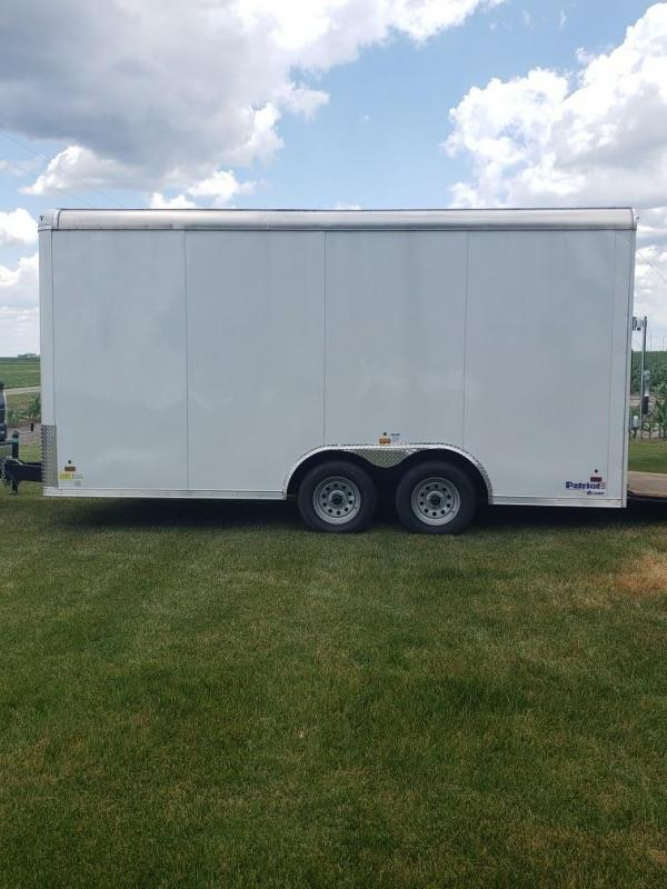 2018 US Cargo Patriot 8 x 16 Enclosed Cargo Trailer