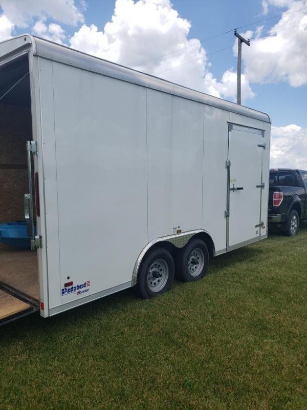 2018 US Cargo Patriot 8 x 16 Enclosed Cargo Trailer