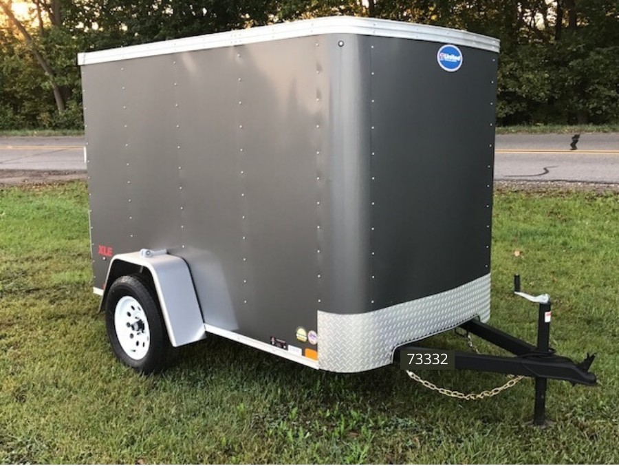 "2021 United Trailers United Trailers XLE 5 x 8 x 66""Enclosed Cargo Trailer"