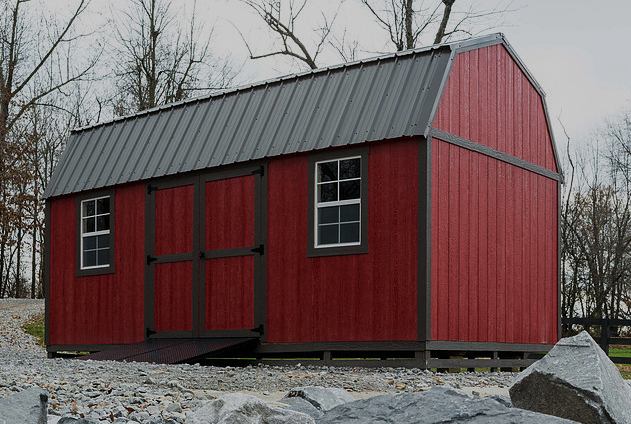 Premier Side Lofted Barn