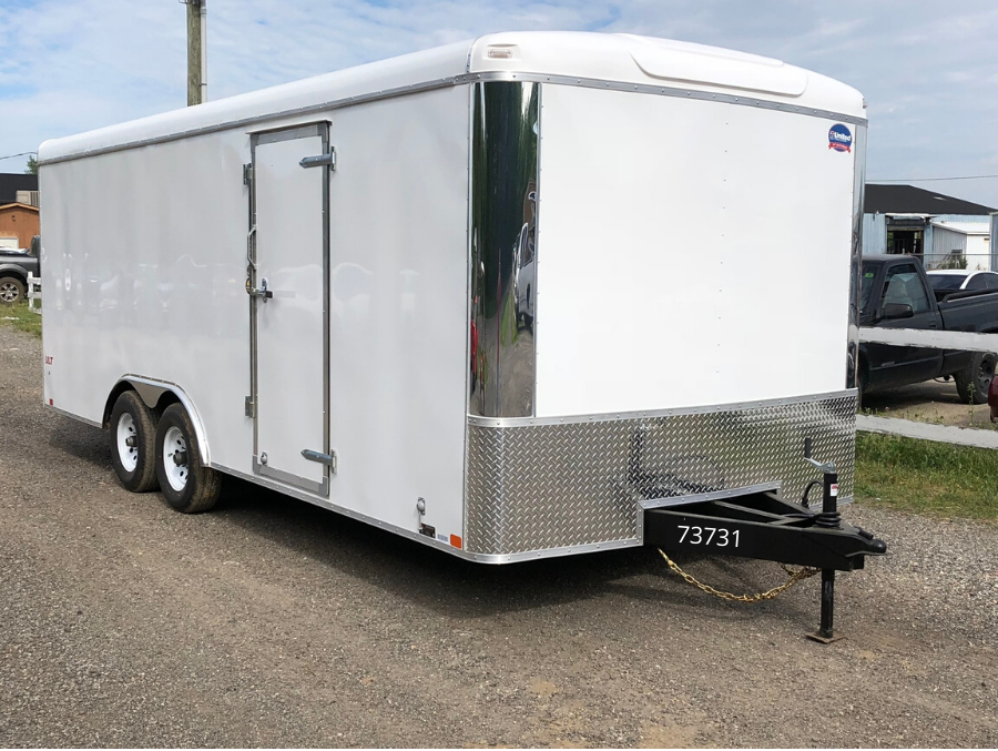 "2021 United Trailers 8.5x24x78"" ULT Car Hauler - Round"