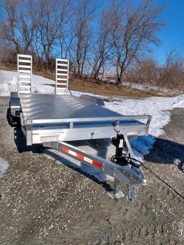 2021 7x18 (16+2) Sure-Trac Aluminum Implement Trailer
