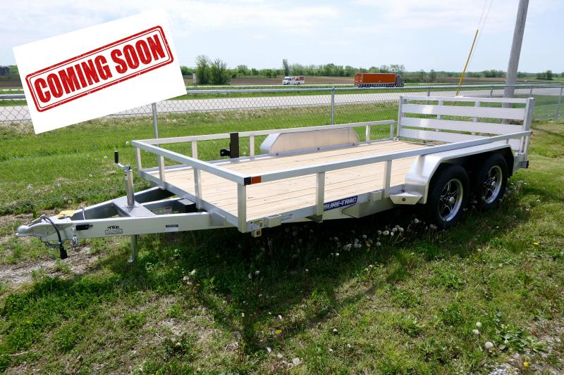 COMING SOON 2021 Sure-Trac Aluminum Landscape Tube Top Tandem Axle Trailer