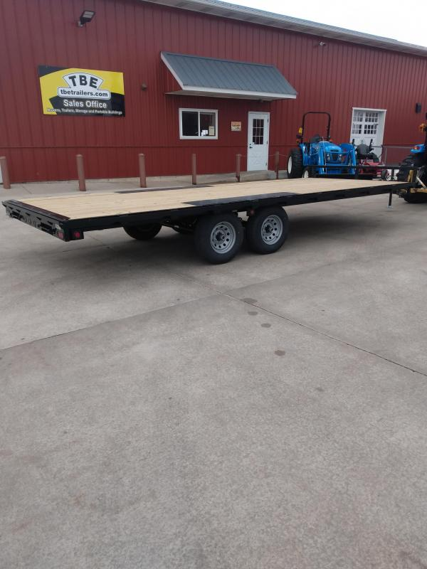 2021 BARELY USED Quality Steel and Aluminum Equipment Trailer