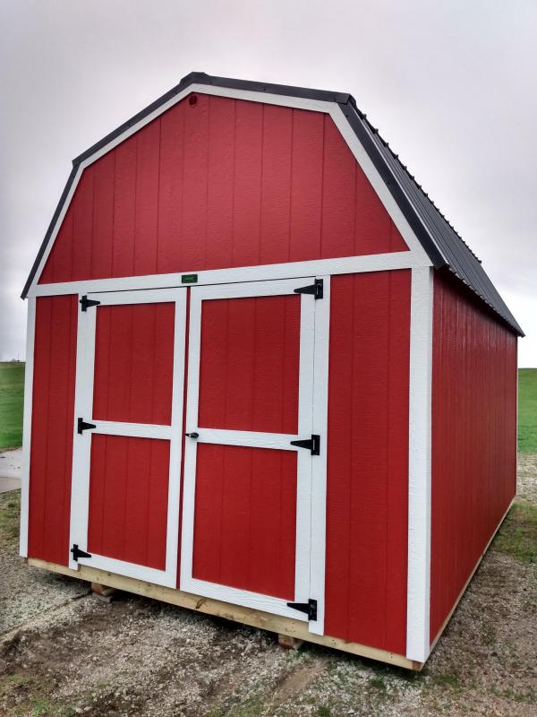 2021 Premier Portable Building 10x16 Lofted Barn