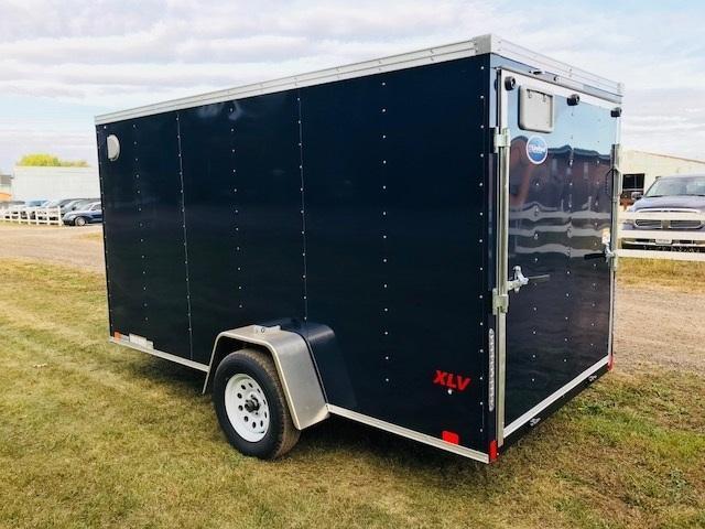 "2021 United Trailers XLV Wedge 7 x 14 x 72"" Enclosed Cargo Trailer"