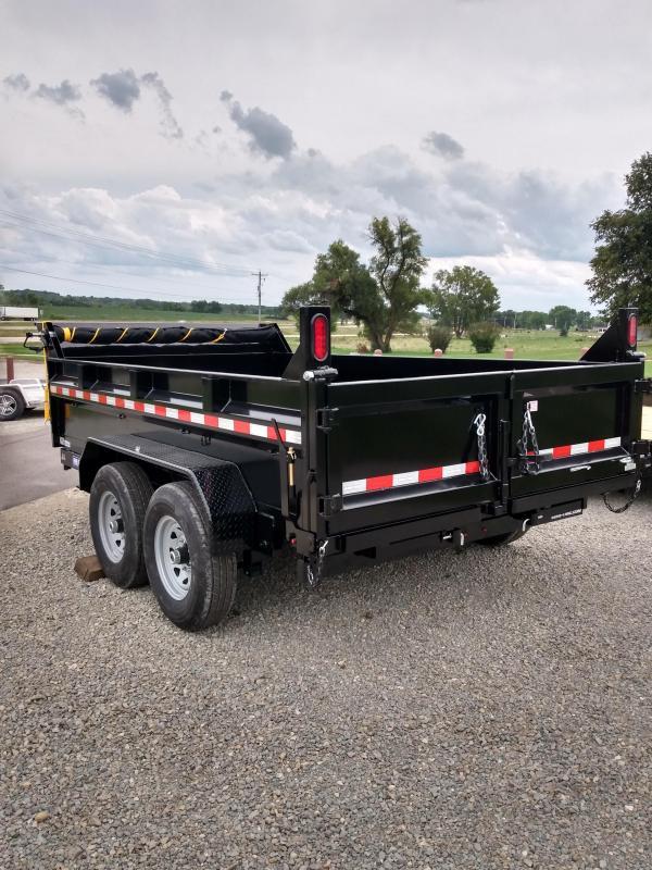 2022 Sure-Trac 82 IN x 12 HD Low Profile Dump Trailer