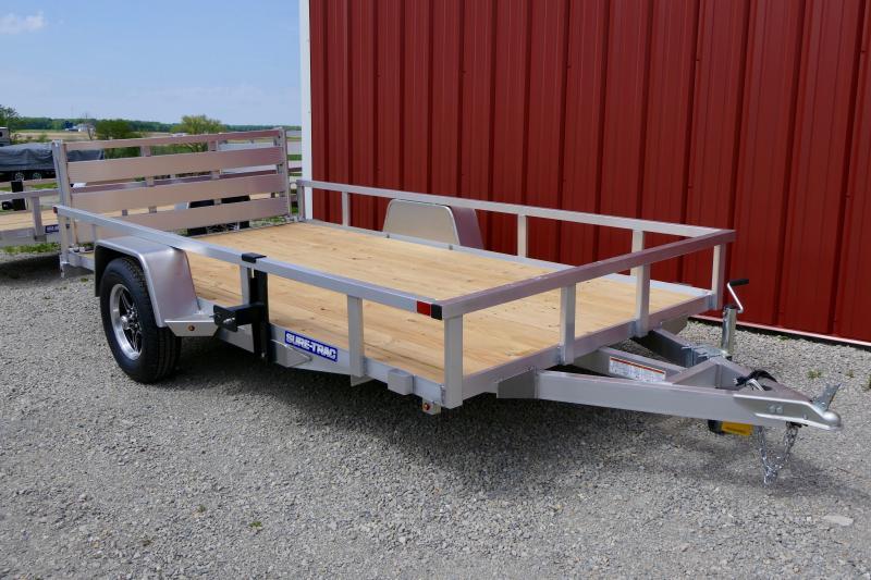 2021 Sure-Trac 7x12 Tube Top Aluminum Utility Trailer