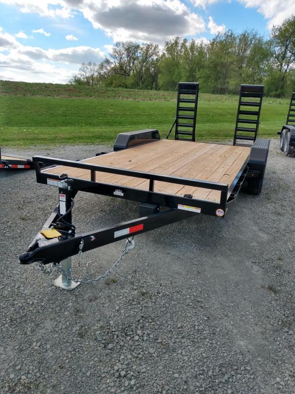 2021 Sure-Trac 7 x 16 (14+2) Equipment Trailer  10K