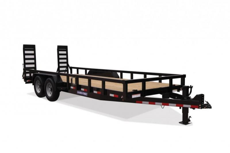 2019 Sure-Trac 7 x 18 Implement HD 14K Equipment Trailer