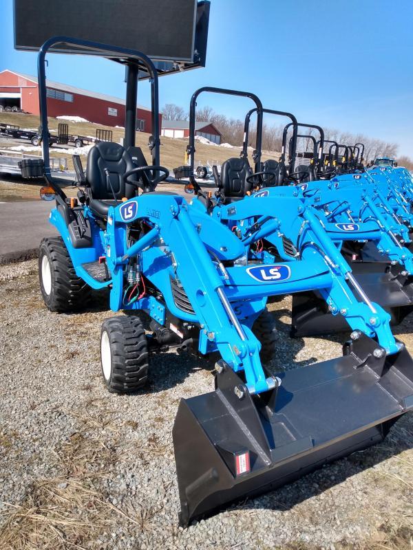 2020 LS Tractors MT125H Sub-comp  w/ Loader Tractor