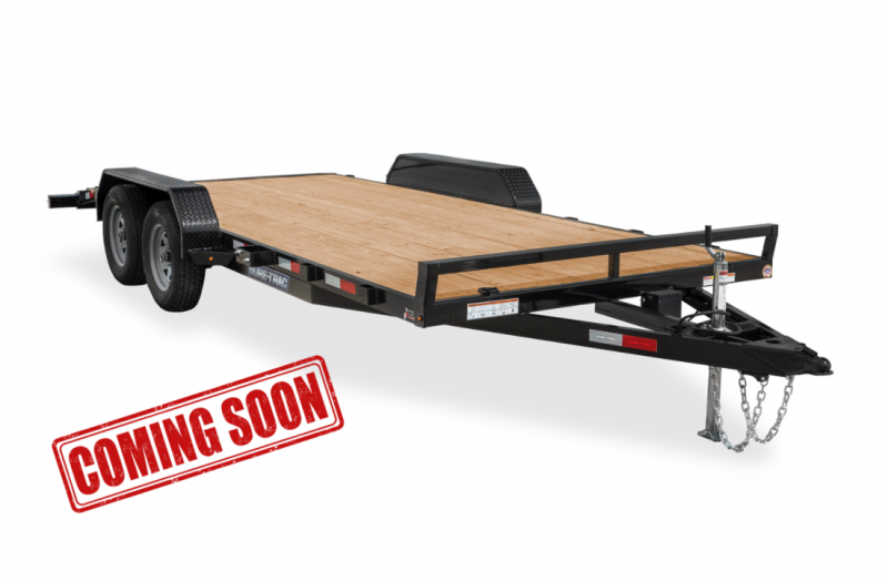 COMING SOON 2021 Sure-Trac Car Hauler C-Channel Wood Deck Trailer