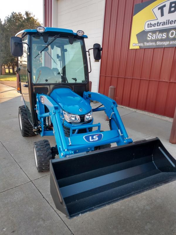 2021 LS Tractor MT125H with Cab and Snow Blower