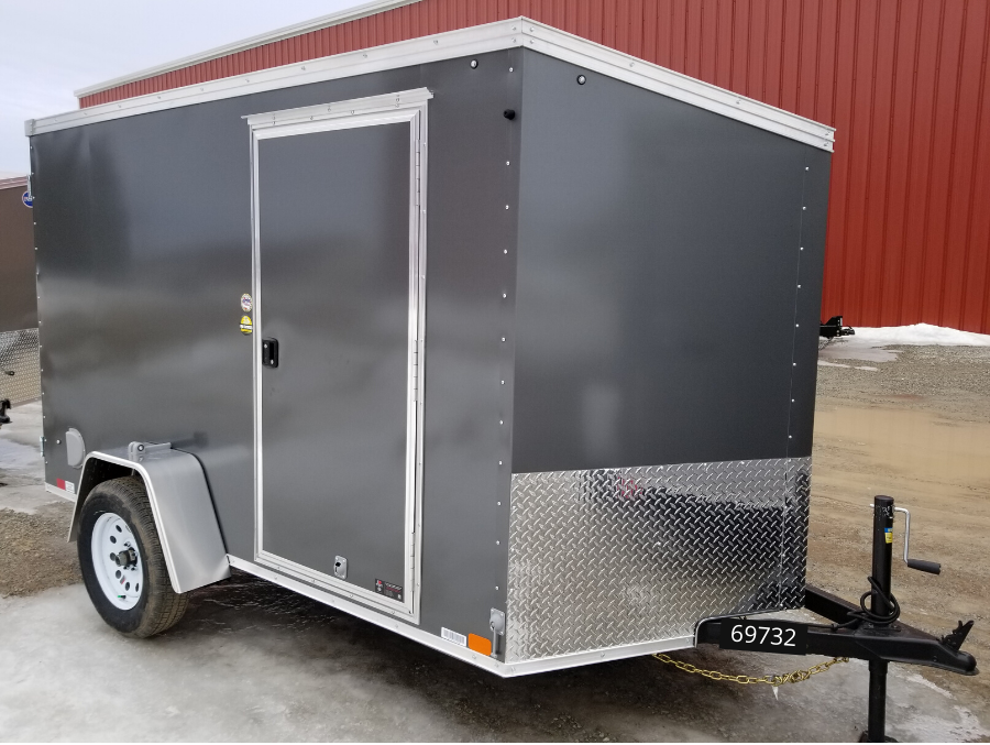 "2020 United Trailers XLV Wedge 6 x 12 x 72""Enclosed Cargo Trailer"